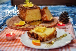Bademli Portakallı Kek (Videolu) Tarifi