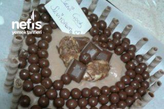Çikolatalı Kalpli Pasta Tarifi