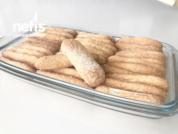 Ev Yapımı Kedidili Bisküvi (48 Adet Tiramisu Ve Pastaların Vazgeçilmezi)
