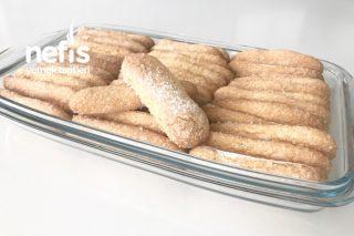 Ev Yapımı Kedidili Bisküvi (48 Adet Tiramisu Ve Pastaların Vazgeçilmezi) Tarifi