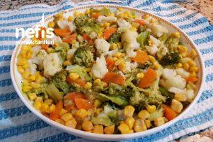 Karnıbahar Brokoli Salatası (Vitamin Deposu) Tarifi