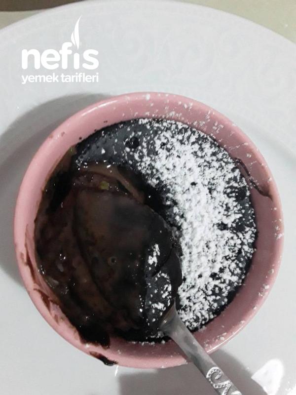 Pudingli Suffle (Dondurulmuş Buz Kalıbında Çikolatalı Ve Vanilya Pudingli)