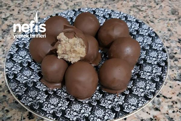 Ballı Çikolatalı Kestane Şekeri (Sadece 3 Malzemeli) Tarifi
