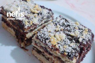 Bisküvili 3 Katlı Pasta Tarifi