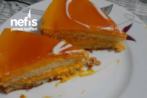 Cevizli Balkabaklı Pasta Tarifi