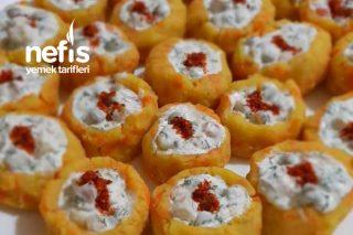 Garnitürlü Patates Çanakları Tarifi