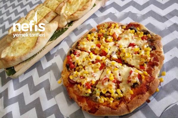 Tek Hamurdan Pide-Pizza Tarifi
