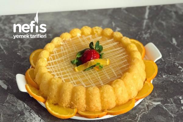 Portakal Soslu Portakallı Islak Kek