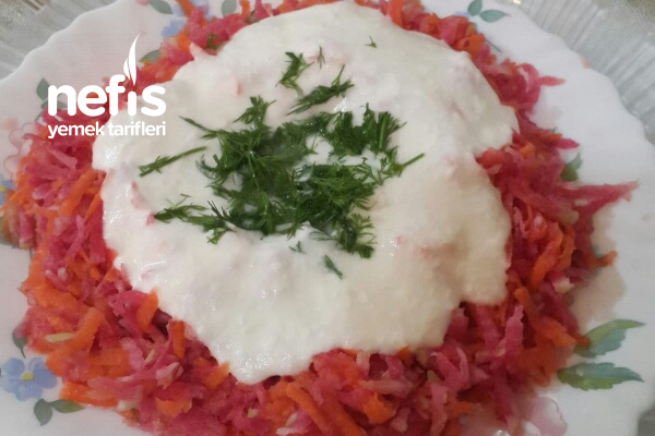 Havuç Turp Salatası Tarifi