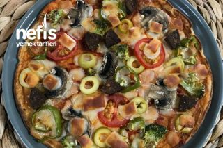Krepten Fit Pratik Pizza Tarifi