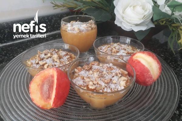 Meyve Suyundan Muhallebi Tarifi