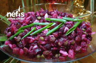 Rus Pancar Salatası Vinigret Tarifi