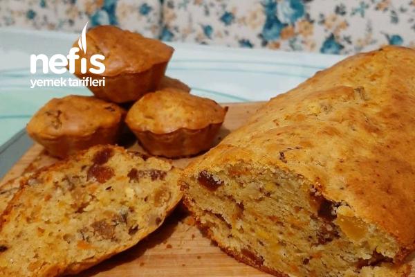 Şifalı Kek (Bol Vitaminli Kış Keki) Tarifi