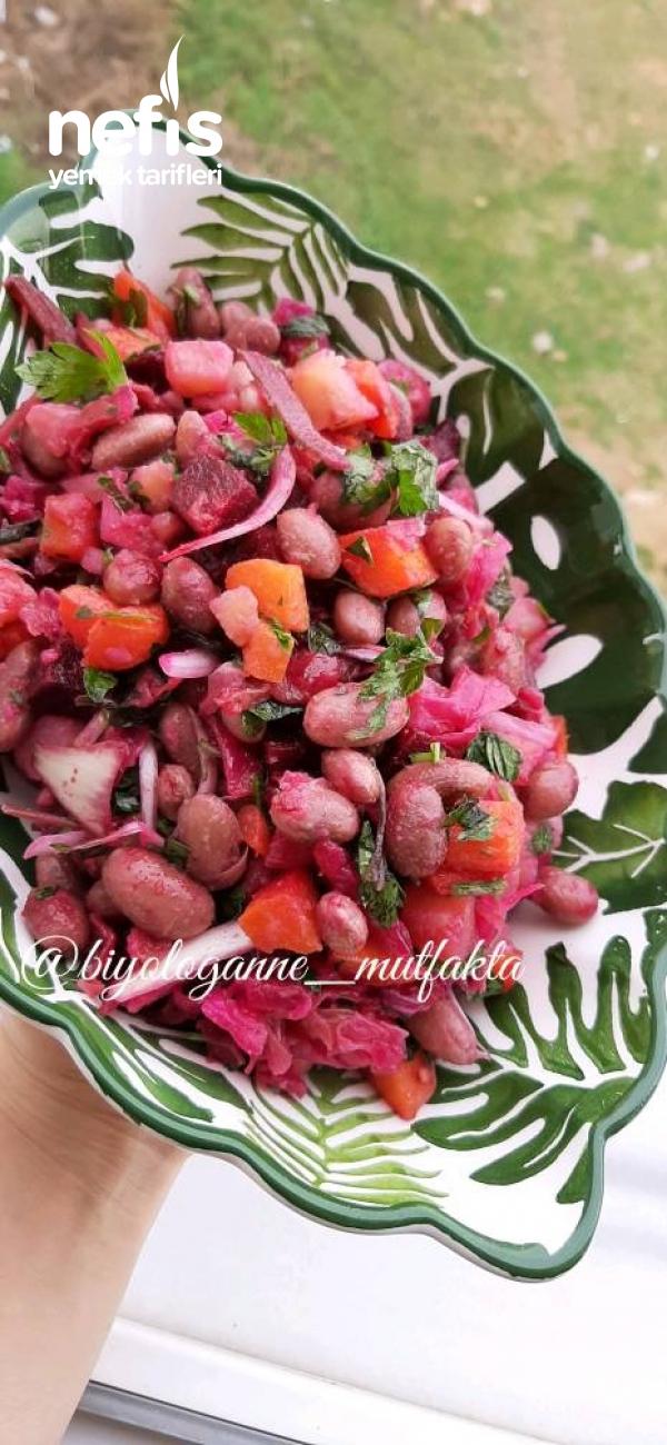 Vineqret Salatası (Piyaz Meze Salata Ne Derseniz O)