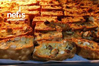 Biscotti (İtalyan Kurabiyesi) Selanik Gevreği Tarifi