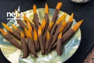 Çikolatalı Portakal Çubukları Tarifi