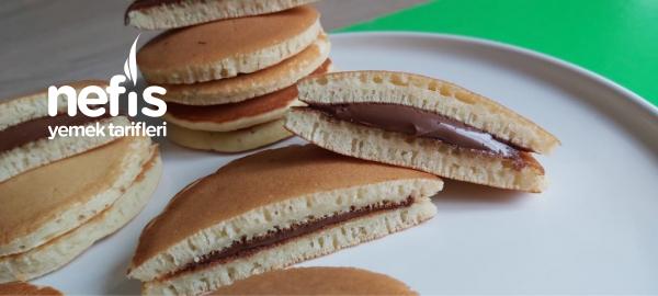 Kahvaltılık Çikolatalı Pankek /bitmiş Ketçap Kutusuyla Pankek Yaptım ( videolu )