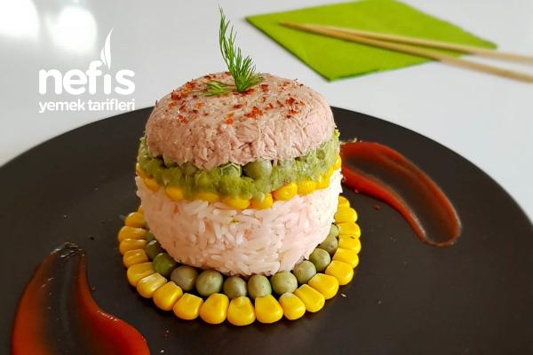 Pirinçli Ton Balığı Salatası Tarifi