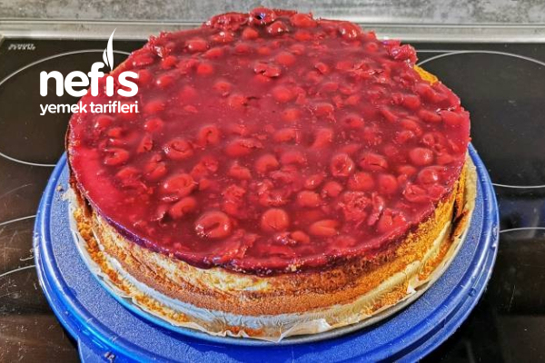Vişne/Labne Pastası Tarifi