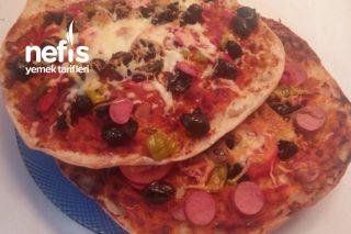 Bazlama Pizza Mmmhh Tarifi