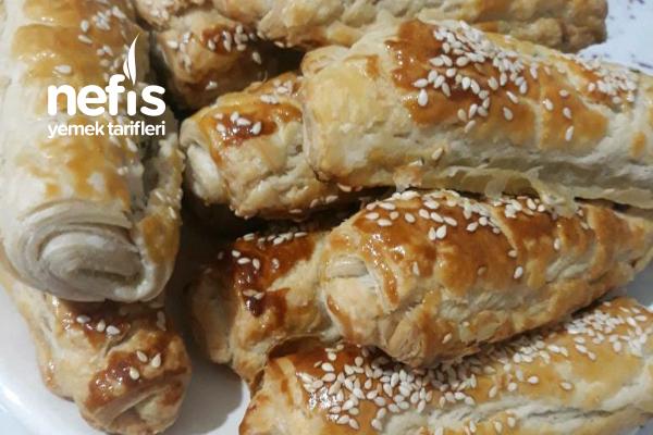 Milföy Hamuruyla Mini Börek Tarifi