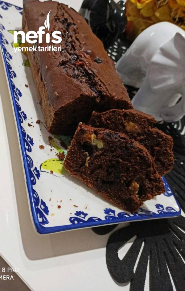 Muzlu,kakaolu,çaylı Baton Kek Damla Çikolatalı( Brovni Tadında)