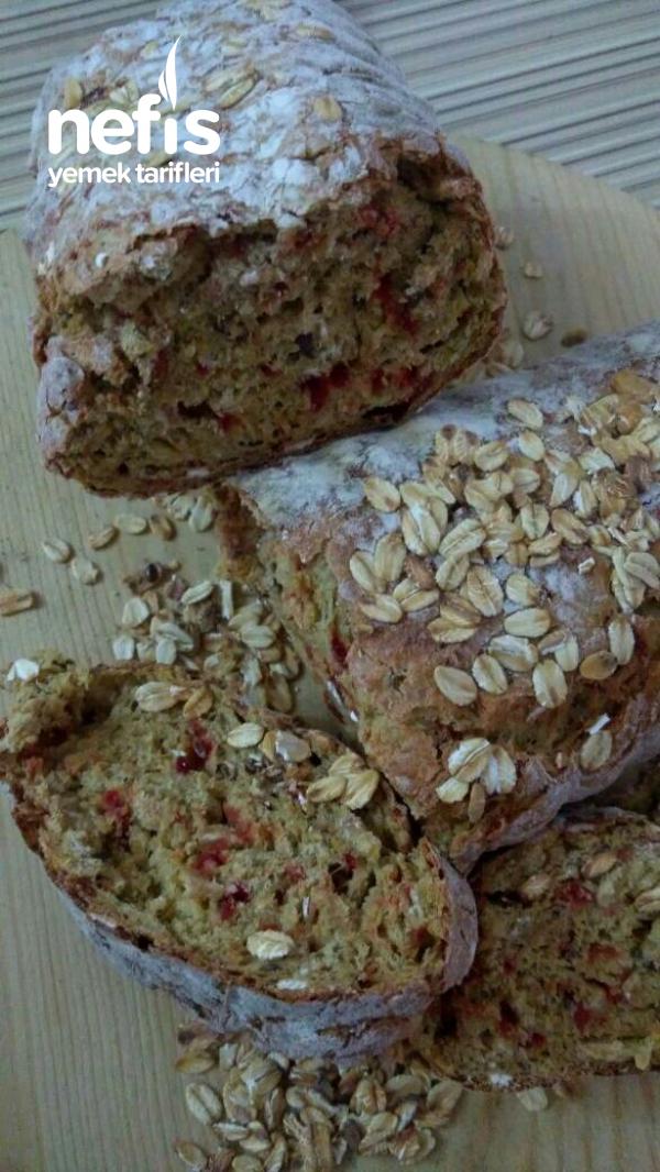 Pancarlı Yulaflı Tam Buğday Ekmeği