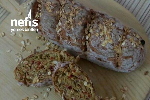 Pancarlı Yulaflı Tam Buğday Ekmeği Tarifi