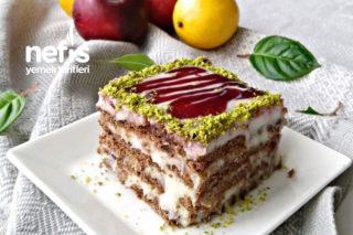 Bisküvili Pasta Pişman Olmayacağınız Garantili Tarif (Videolu) Tarifi