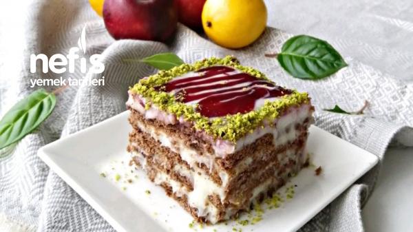 Bisküvili Pasta – Pişman Olmayacağınız Garantili Tarif