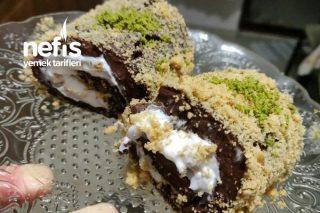 Burçak Bisküvi Ve Çikolatalı Saray Sarması Tarifi