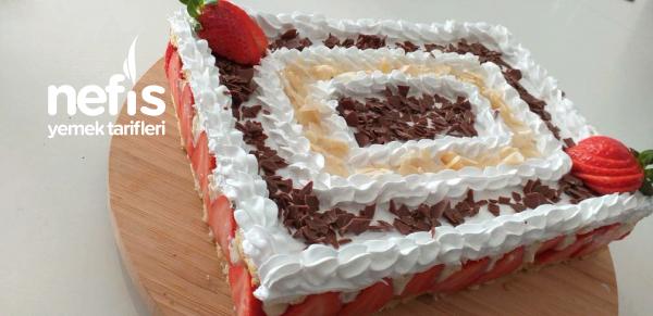 Çilekli Pasta( Fraisier)
