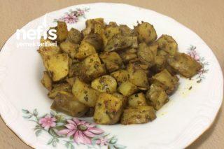 Diyet Yer Elması (Patates Kızartması Tadında) Tarifi