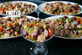 Kış Salatası (Aşırı Lezzetli) Tarifi