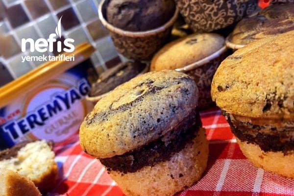 Nefis Mozaik Muffin Kek Tarifi