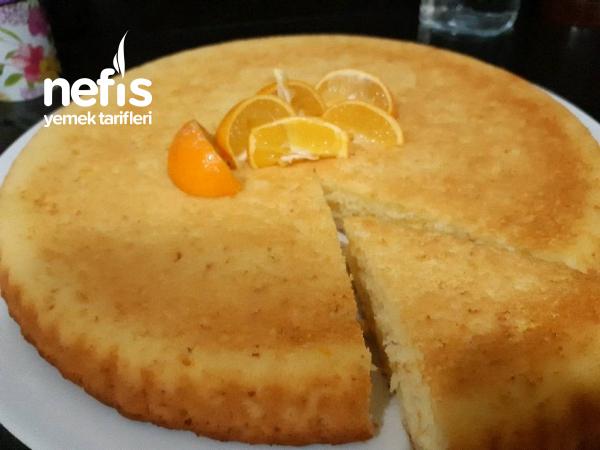 Portakallı Tarçınlı Pamuk Kek