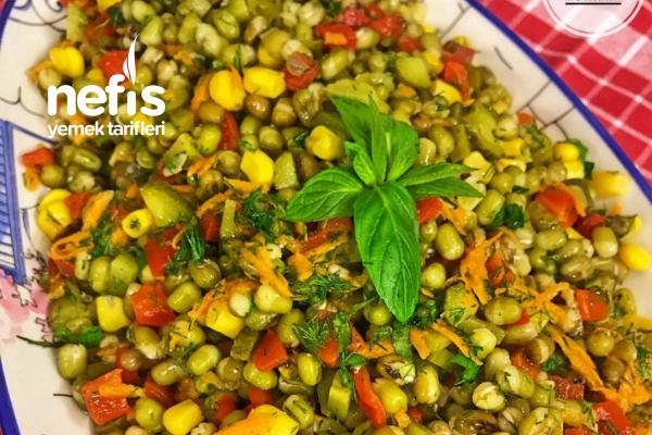 Besleyici Ve Leziz Maş Fasulyesi Salatası Tarifi