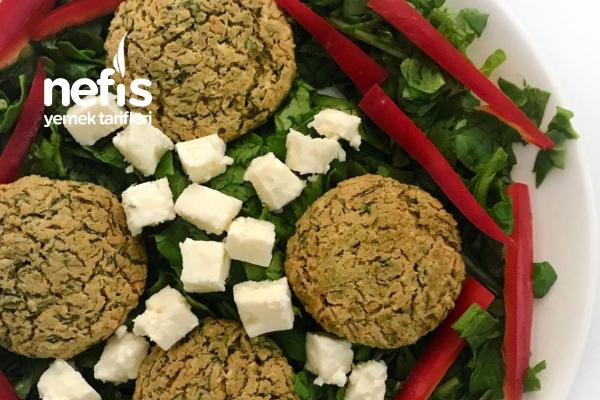 Fırında Felafel Salata Tarifi