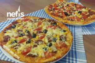 Fırınsız Yumuşacık Pizza Tarifi