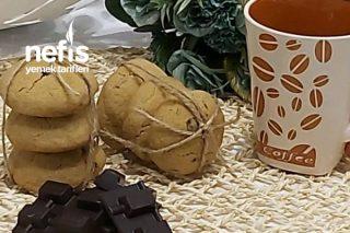 Kahveli Çikolatalı Cookie Kahve Severlere Tarifi