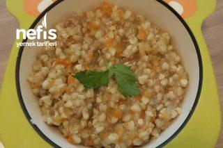 Kıymalı Karabuğday Pilavı (Bebekler İçin +8 Aydan İtibaren) (Glutensiz) Tarifi