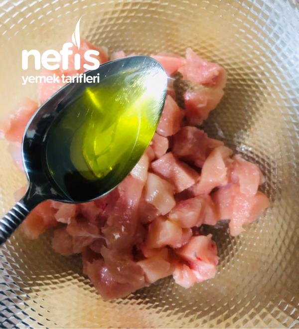 Kremalı Tavuk Bonfile