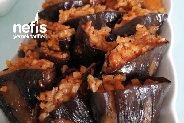 Kuru Patlıcan Ve Biber Dolması Tarifi