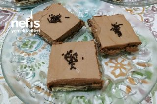 Mousse Kremalı Mozaik Pasta Tarifi
