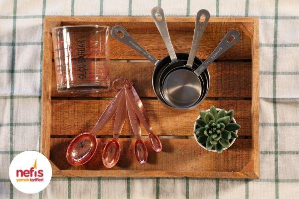 Mutfak İçin Ölçü Tablosu Detaylı, Resimli Tarifi