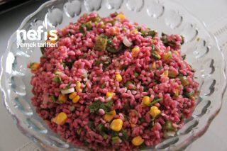 Nefis Şalgamlı Bulgur Salatası Tarifi