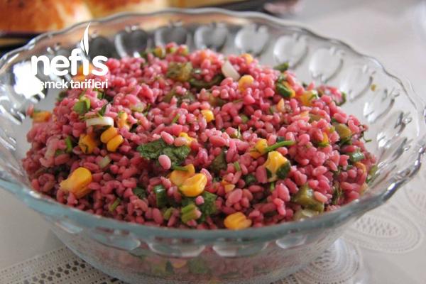 Nefis Şalgamlı Bulgur Salatası