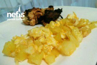 Patatesli Omlet (Çocuklarınız bayılacak) Tarifi