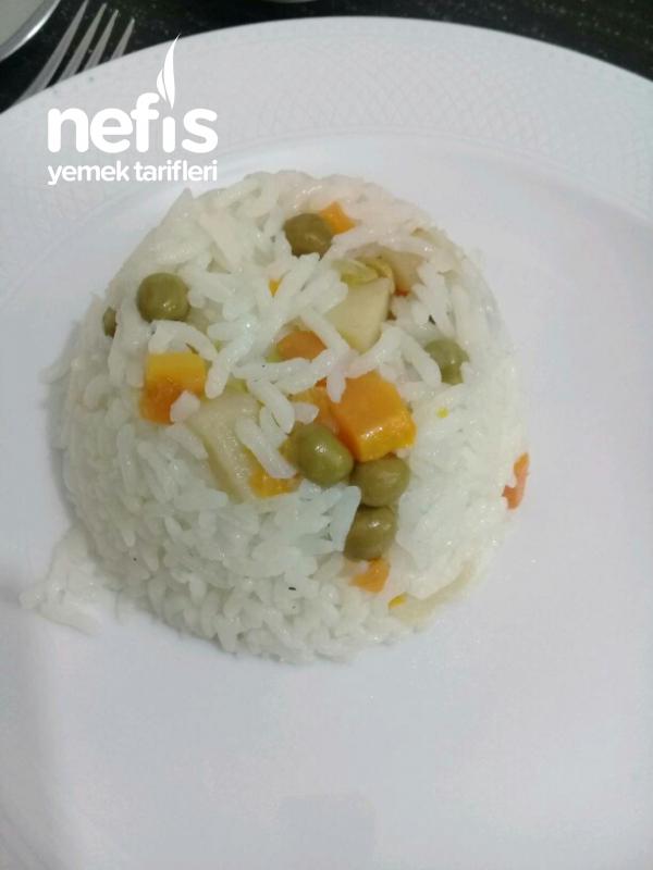 Pirinç Pilavı (Garnitürlü)