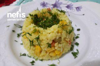 Zerdeçallı Sebzeli Pirinç Pilavı Tarifi